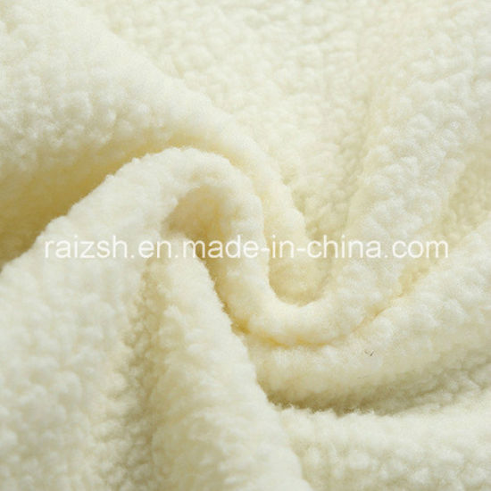3d230a0e7aad8 100% Polyester Sherpa Fleece Fabric for Winter Coat Lining pictures   photos