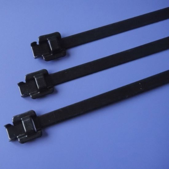 Adjustable Coated Stainless Steel Cable Tie pictures & photos