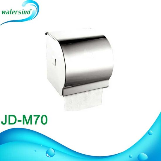 Jd-M71 Bathroom Accessory SUS304 Toilet Tissue Paper Holder Box pictures & photos