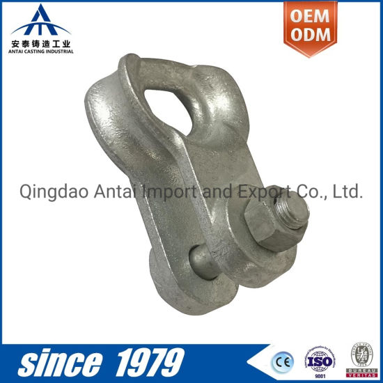 Monthly Deals 80% off Customized Factory Manufacture Sand Casting Thimble Clevis for Guy Grip for Power Accessories