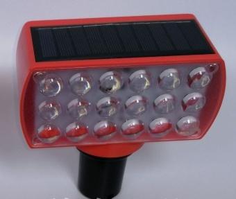 Wholesale Solar Power Traffic Warning LED Strobe Light