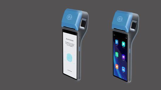Handheld All in One NFC Reader Fingerprint POS Terminal CS30