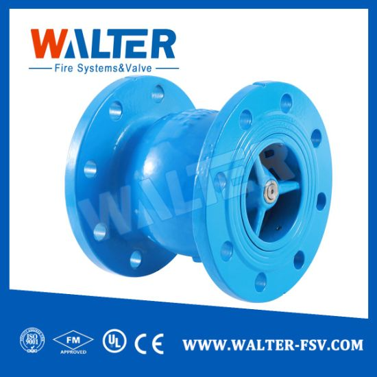 China Wholesale Cast Iron Silent Check Valve