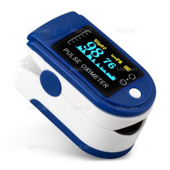 Portable Digital OLED High Quality Hand-Held Finger Pulse Oximeter