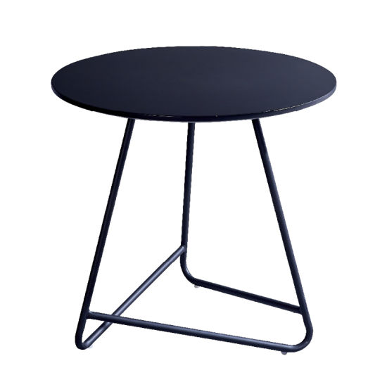 Wholesale Living Room Furniture Glass Top Metal Frame Coffee Table