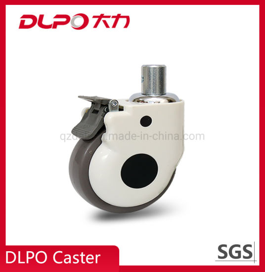 Dlpo M13.2 Solid Stem Lockable Castor Wheel for Phototherapy Machine