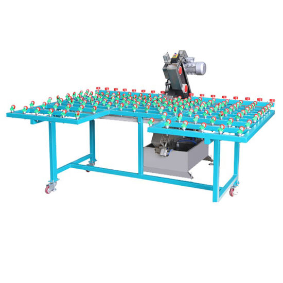Water Type Belt Glass Grinding Machine with Two Type, Glass Edge Grinding Machine (CNC, FLAT, POLISHING, TOOLS, GLASS PROCESSING MACHINE)