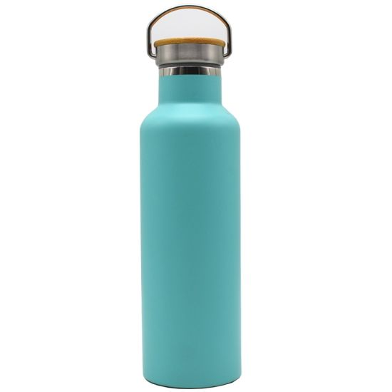 750ml Stainless Steel Sport Water Bottle Double Wall Vacuum Flask with Lid