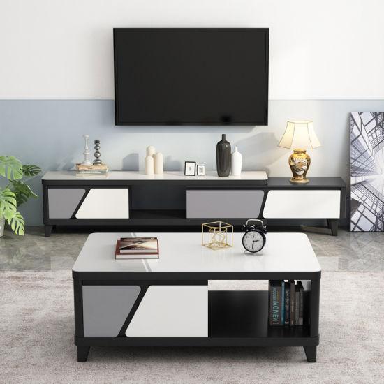 Living Room Black White Gl Top