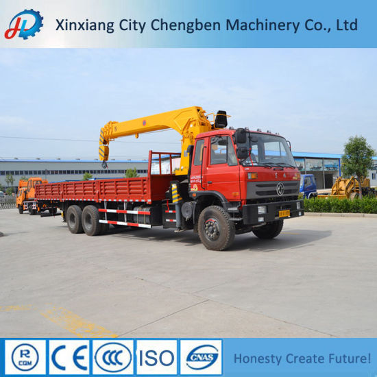 Hot Selling Products 8X4 Lorry Mounted Crane 10tons Made in China pictures & photos