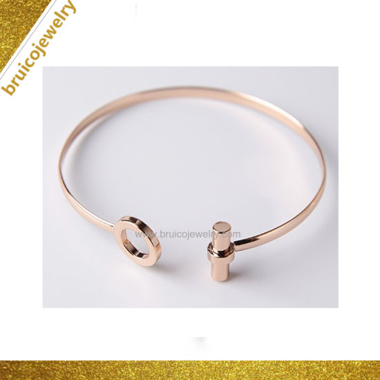 2019 Wholesale Fashion Accessories Jewelry Open Cuff 925 Sterling Silver Gemstone Bracelet Bangle pictures & photos