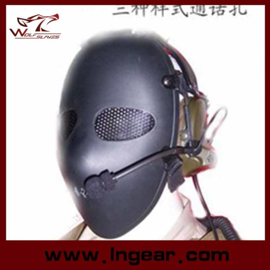 Military Tactical Full Face Airsoft Paintball Killer Mask for Wholesale Plastic