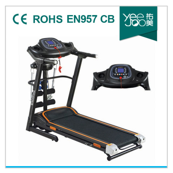 Hot Motorized Treadmill with Massage /MP3 Function (Yeejoo-8012DA) pictures & photos
