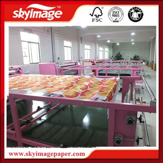 Large Format Roller Heat Press Machine 420*1900mm for Polyester Fabric Printing
