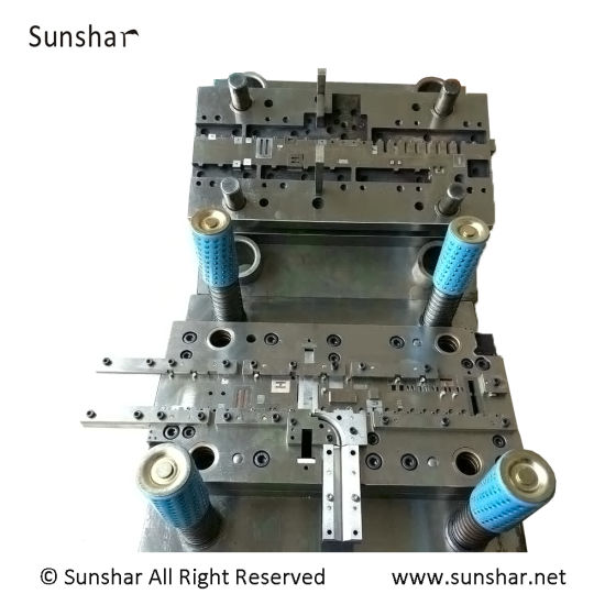 Electrical Contact Sub-Assembly Progressive Stamping Riveting Die Manufacture pictures & photos