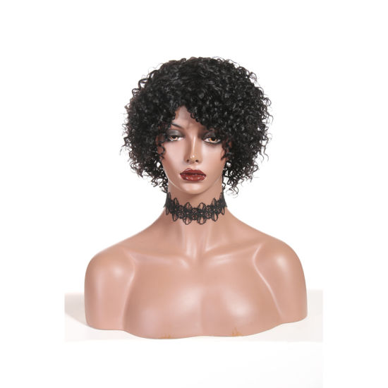Short Curly Wigs Lace Front Human Hair Wigs for Black Women pictures & photos