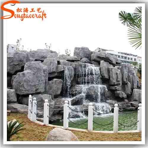Indoor Craft Rock Wall Water Fountain