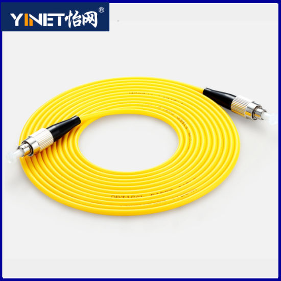 FC/Upc to FC/Upc Simplex Fiber Patch Cord 652D Single Mode pictures & photos