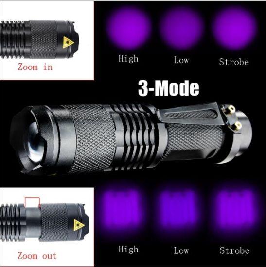 3 Modes with Adjustable Zoom Lot of 6-14500//AA LED flashlight