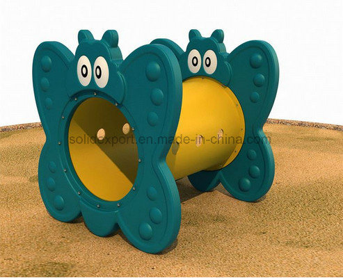 Plastic Outdoor Playground Children Games Equipment Colorful Kids Toy Tunnel