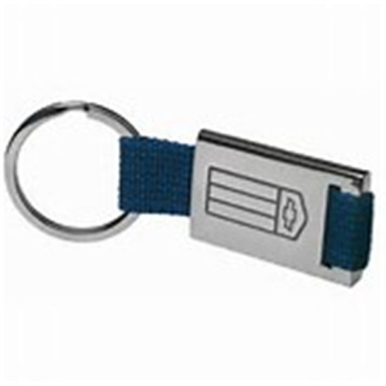 Customized Wholesale Fabric Key Chain/Ring Emoji Engraved Hardware pictures & photos