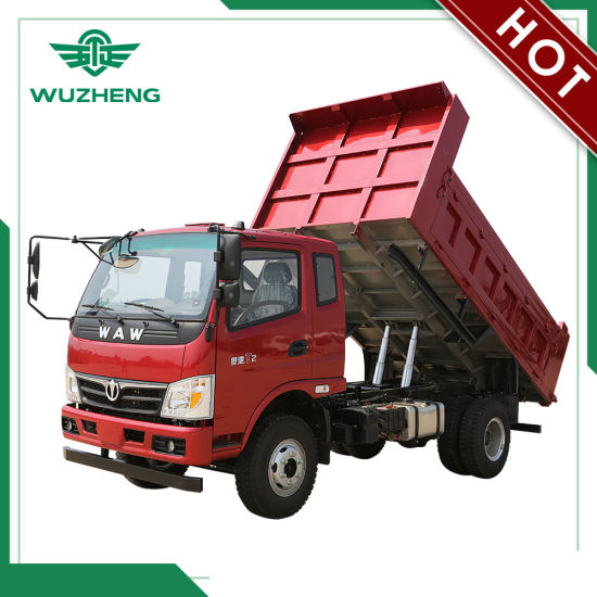 Waw 8 Ton Dump Truck for Construction Areas