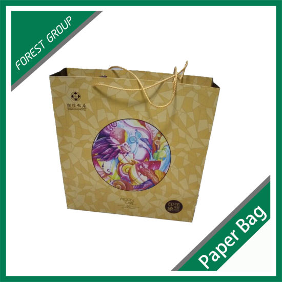 Hologram Paper Packing Bag for Gift pictures & photos