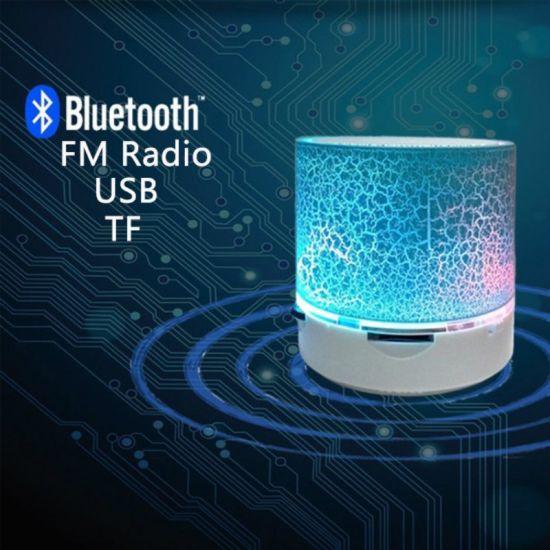 Factory Price Wireless Mini LED Bluetooth Speaker