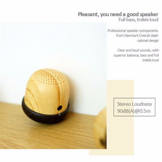 New Special Nuts Style Mini Wireless Portable Bluetooth Speaker pictures & photos