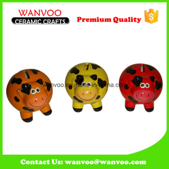 Colorful Animal Shape Design Ceramic House Decoration for Saving Money pictures & photos