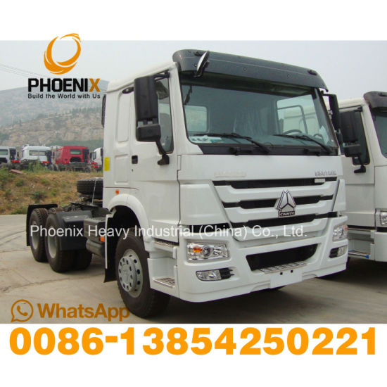 Used 371HP Sinotruck HOWO Tractor Head 6X4 Tractor Truck for African Market.