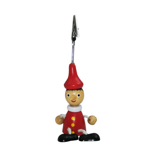 Long Nose Pinocchio Wooden Toy Rope Limbs Puppet Doll Pendant pictures & photos