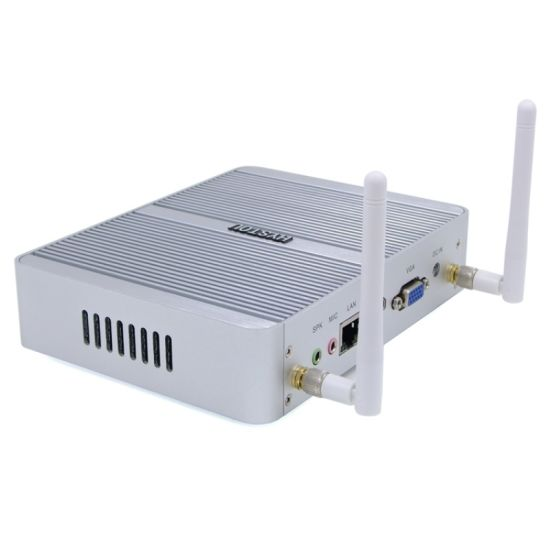 Fanless Mini PC for DDR4 Intel Core I3 6100u (VGA*HDMI) pictures & photos