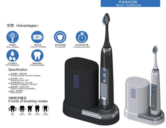 Household Rechargeable Oral Dental Care Electric Toothbrush