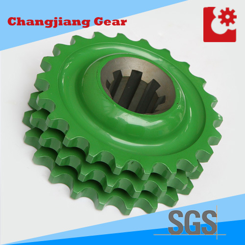 OEM Stainless Steel Harden Treatment Drive Triplex Sprocket pictures & photos