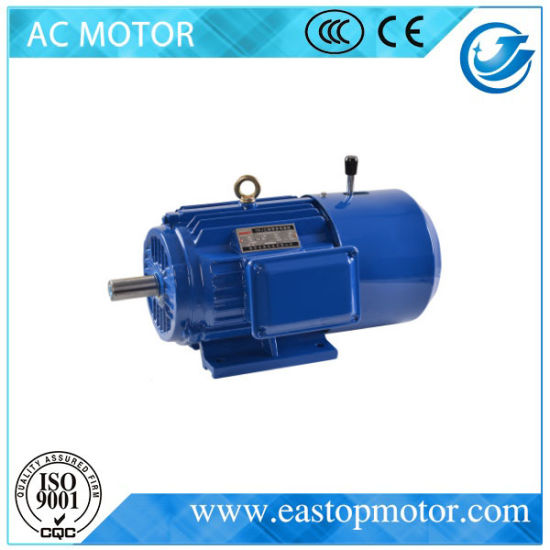 Ce Approved Three Phase Brake Motor with DC Clutch