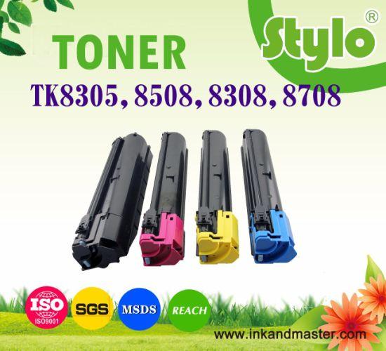 Laser Printer Toner Powder Tk8305 Tk8306 Tk8307 Tk8308 Tk8309 Tk8508 Tk8708 for Use in Kyocera Taskalfa 3050ci 3550ci