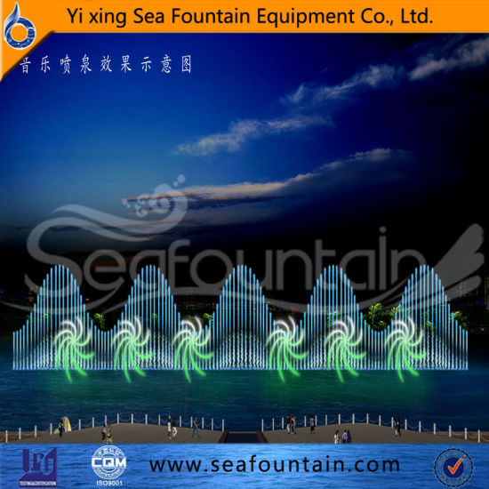 Combination Type Multimedia Music 3D Nozzle Fountain pictures & photos