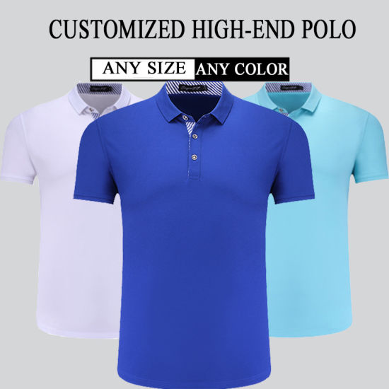 f3256a7ad China 95% Cotton 5% Spandex 180GSM Custom Polo Shirts, Polo T Shirt ...