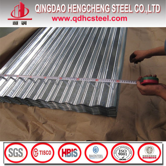 SGCC Corrugated Steel Sheet Galvanized Roofing Sheet pictures & photos