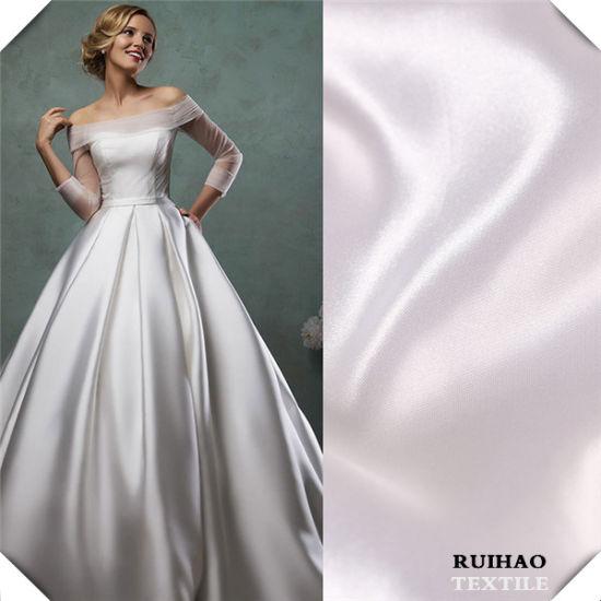 Acetate Fabric Lining Satin For Wedding Dress