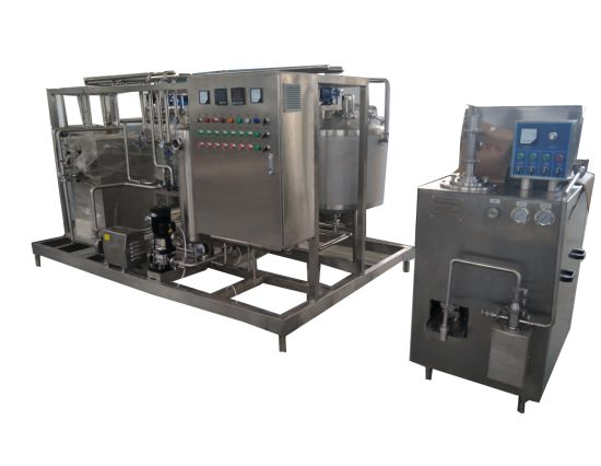 Small Scale 400L Dairy Ice Cream Production Plant pictures & photos