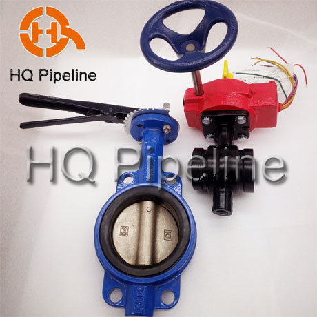 Wafer/Lug/Swing/Grooved End Type Butterfly Valve/Check Valve pictures & photos