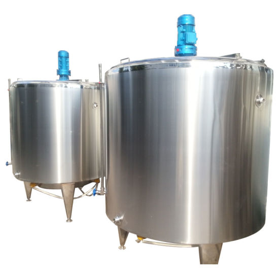 Food Sanitary SUS304 Stainless Steel Electric 2000L Juice Mixing Tank pictures & photos