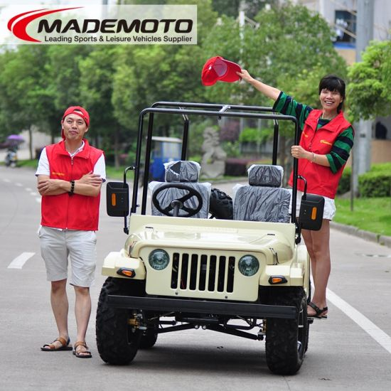 China New Adult Size Mini Jeep Willys Available On 150cc And 200cc