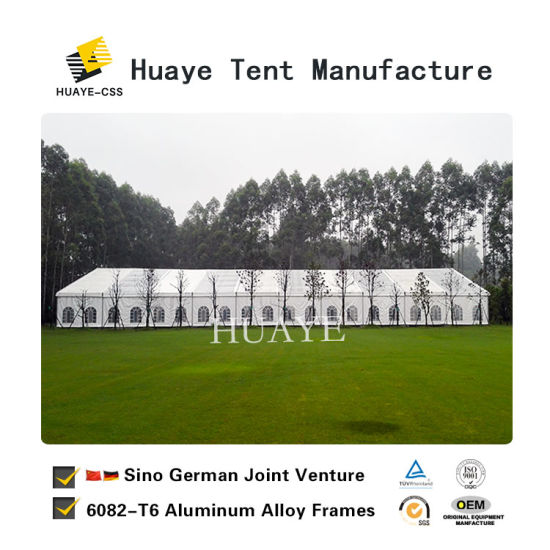 Huaye Durable Outdoor Party Event Tent with Tables and Chairs pictures & photos