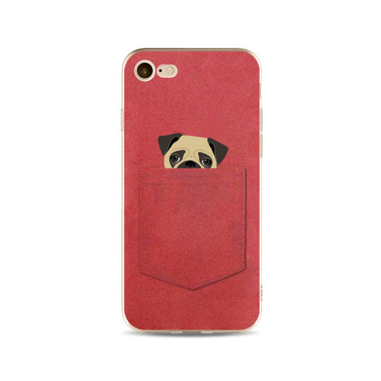 6f3cea6931 Mobile Phone Accessories Soft TPU Print Animal Case for iPhone 6 Pocket Cat  Pocket Dog Phone Case Ypf65