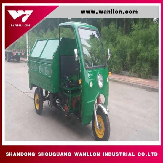 Farm Use 250cc Lifan Motor Gas 3 Wheel Scooter with Large Cargo pictures & photos