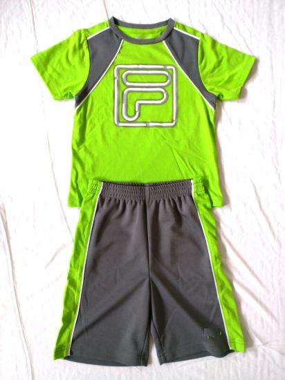 7c426753 Customized Boys Sports Set T Shirt Boys Shorts Children Clothes Baby Clothes