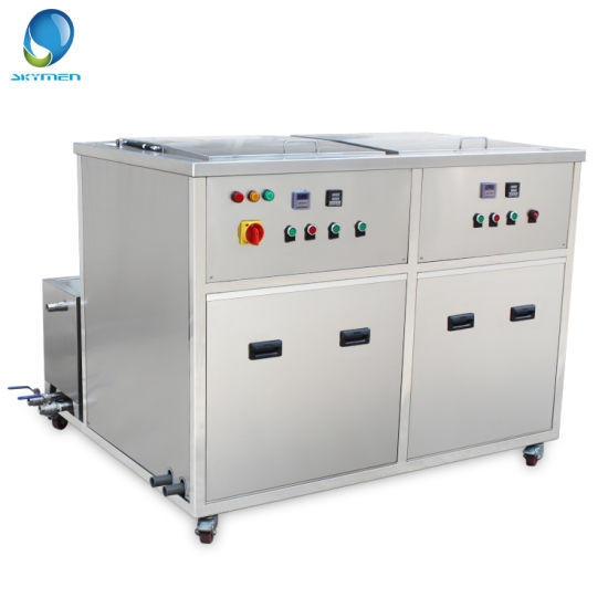 Large Ultrasonic Cleaner with Filter Ultrasonic Auto Parts Cleaner 360L pictures & photos